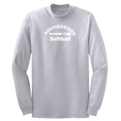 Softball - Ultimate Pullover Hooded Sweatshirt - Long Sleeve 5.4 oz. 100% Cotton T Shirt - PC54LS