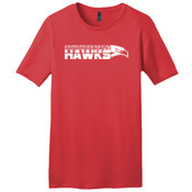 Southeastern Hawks DT4000 Young Mens Vintage Wash Crew Tee