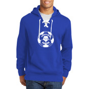 Southeastern Soccer - Lace Up Pullover Hooded Sweatshirt