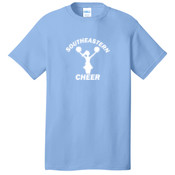 Southeastern Cheer - 5.4 oz 100% Cotton T Shirt - PC54