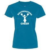 Southeastern Cheer - Ladies 5.4 oz 100% Cotton T Shirt - LPC54