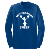 Southeastern Cheer - Long Sleeve 5.4 oz. 100% Cotton T Shirt - PC54LS