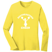 Southeastern Cheer - Ladies Long Sleeve 5.4 oz 100% Cotton T Shirt - LPC54LS