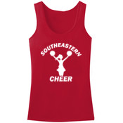 Southeastern Cheer - ™ Ladies Mini Rib Racerback Tank