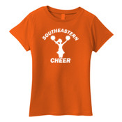 Southeastern Cheer - Ladies 100% cotton T Shirt