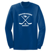 Southeastern Hockey - Long Sleeve 5.4 oz. 100% Cotton T Shirt - PC54LS