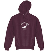 Southeastern Track  - Super Heavyweight Pullover Hooded Sweatshirt