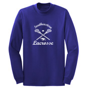 Southeastern Lacrosse - Long Sleeve 5.4 oz. 100% Cotton T Shirt - PC54LS
