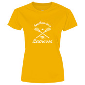 Southeastern Lacrosse - Ladies 5.4 oz 100% Cotton T Shirt - LPC54