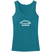 Southeastern Softball - ™ Ladies Mini Rib Racerback Tank