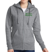 Precision Machining - Ladies Classic Full Zip Hooded Sweatshirt