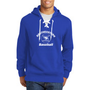 Southeastern Baseball - Lace Up Pullover Hooded Sweatshirt