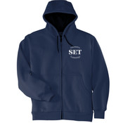 Automotive Technology - - Heavyweight Full Zip Hooded Sweatshirt with Thermal Lining - SE