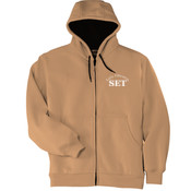Early Education - Heavyweight Full Zip Hooded Sweatshirt with Thermal Lining - SE