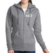 Electrical - Ladies Full Zip Hooded Sweatshirt - SE