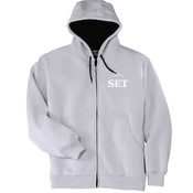 Electrical - Heavyweight Full Zip Hooded Sweatshirt with Thermal Lining - SE