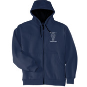 Marketing - Heavyweight Full Zip Hooded Sweatshirt with Thermal Lining - SE