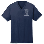 Marketing - Mens 5.4 oz 100% Cotton V Neck T Shirt - SE