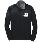 Video production- Vertical Texture 1/4 Zip Pullover