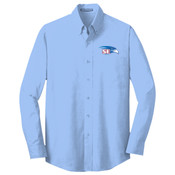 EMBROIDERED Staff - Crosshatch Easy Care Shirt