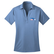EMBROIDERED Staff - Ladies Silk Touch™ Performance Polo L540