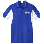 EMBROIDERED Staff - Side Blocked Micropique Sport Wick ® Polo