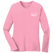 Early Ed - Ladies Long Sleeve 5.4 oz 100% Cotton T Shirt - LPC54LS