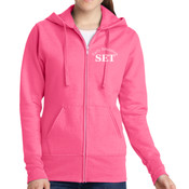 Early Ed - Ladies Classic Full Zip Hooded Sweatshirt