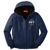 Automotive Technology - CSJ41 Washed Duck Cloth Insulated Hooded Work Jacket