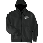 Advanced Manufacturing & Welding - Heavyweight Full Zip Hooded Sweatshirt with Thermal Lining - SE