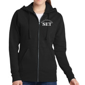 Advanced Manufacturing & Welding - Ladies Classic Full Zip Hooded Sweatshirt - SE